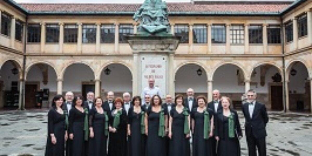 Concierto en la iglesia de Santullano de nuestra coral Bloque al Canto