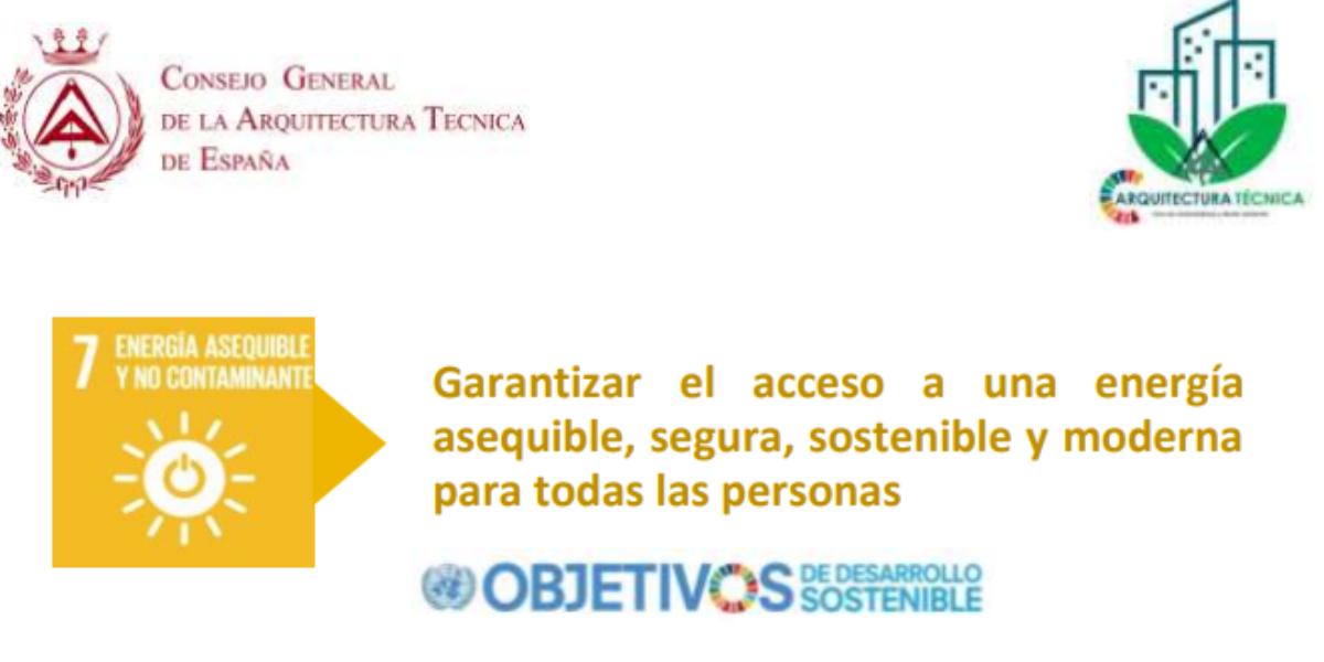 El Consejo General aborda los Objetivos de Desarrollo Sostenible 2030 para aparejadores