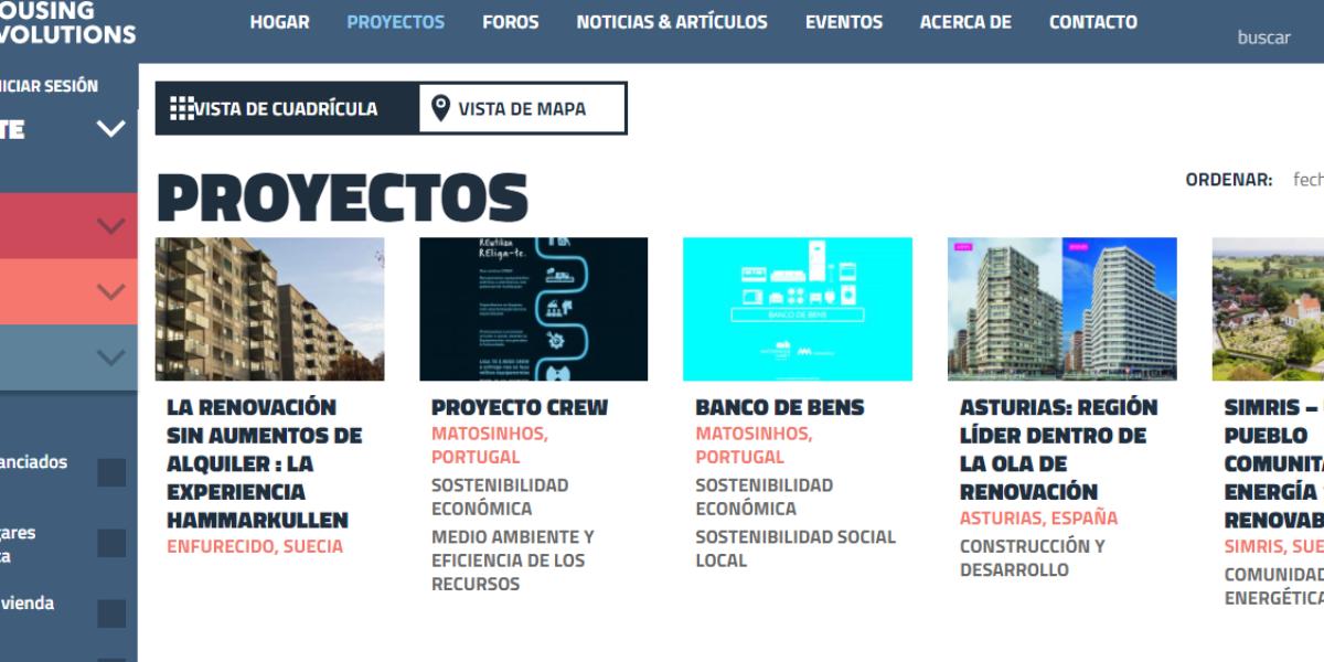 Housing Evolutions Hub, una plataforma con las últimas innovaciones en materia de vivienda social