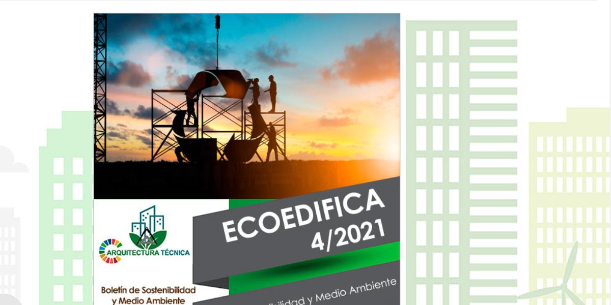 El Consejo General elabora un nuevo boletín de ECOEDIFICA